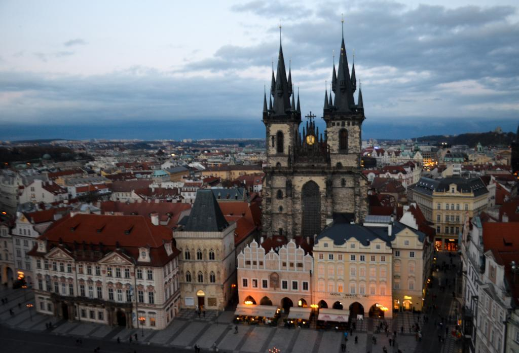 Best spots to view prague from above for Prague location