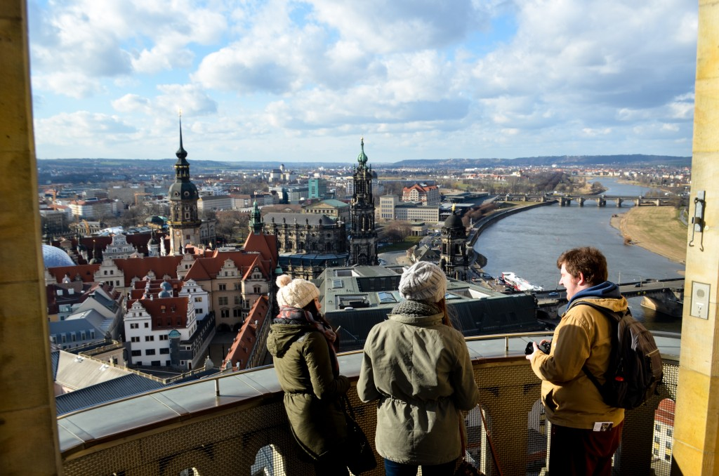 Frauenkirche observation platform, Germany
