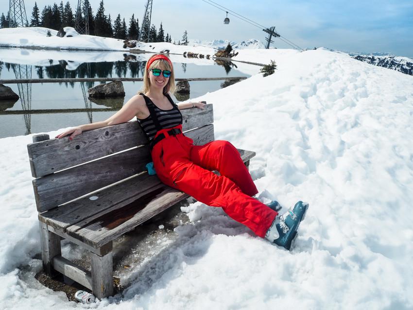 Kitzbühel lyžování