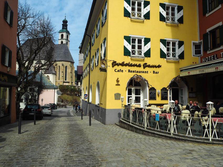 Kitzbühel prohlídka města