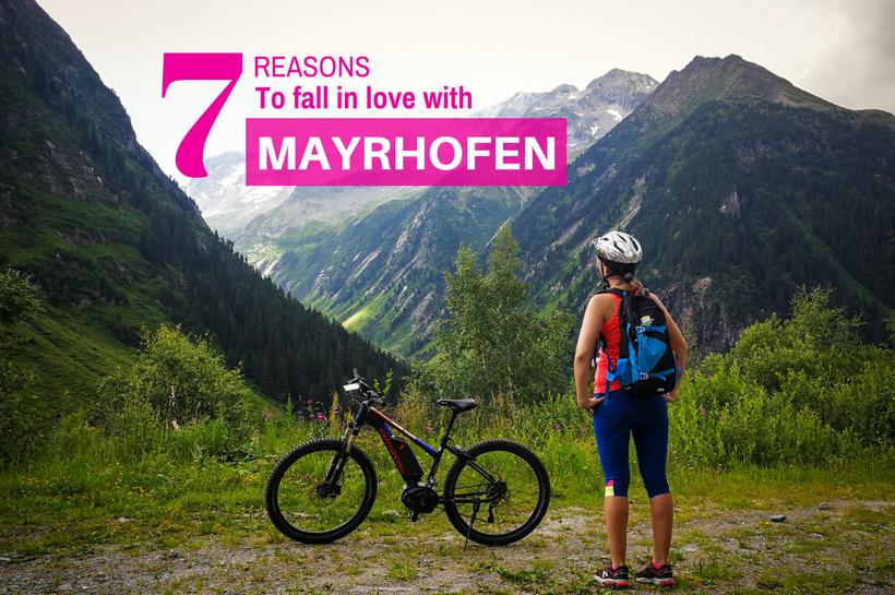 Summer in Mayrhofen Austria cover