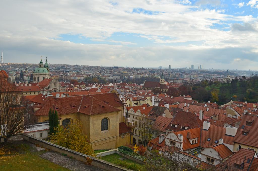 Prague panorama from Hradcany. Of the the classical photographs from Prague. If you come to Czech capital, you can't miss it.