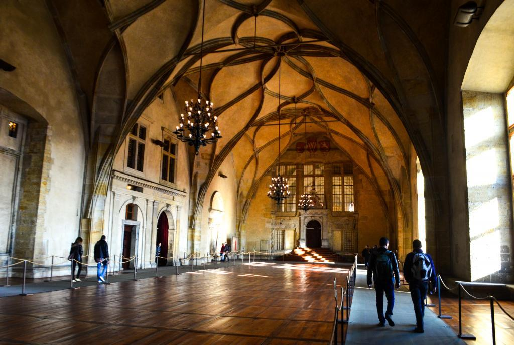 Vladislav Hall - one of the most important halls in Prague castle used for large public events yet nowadays.
