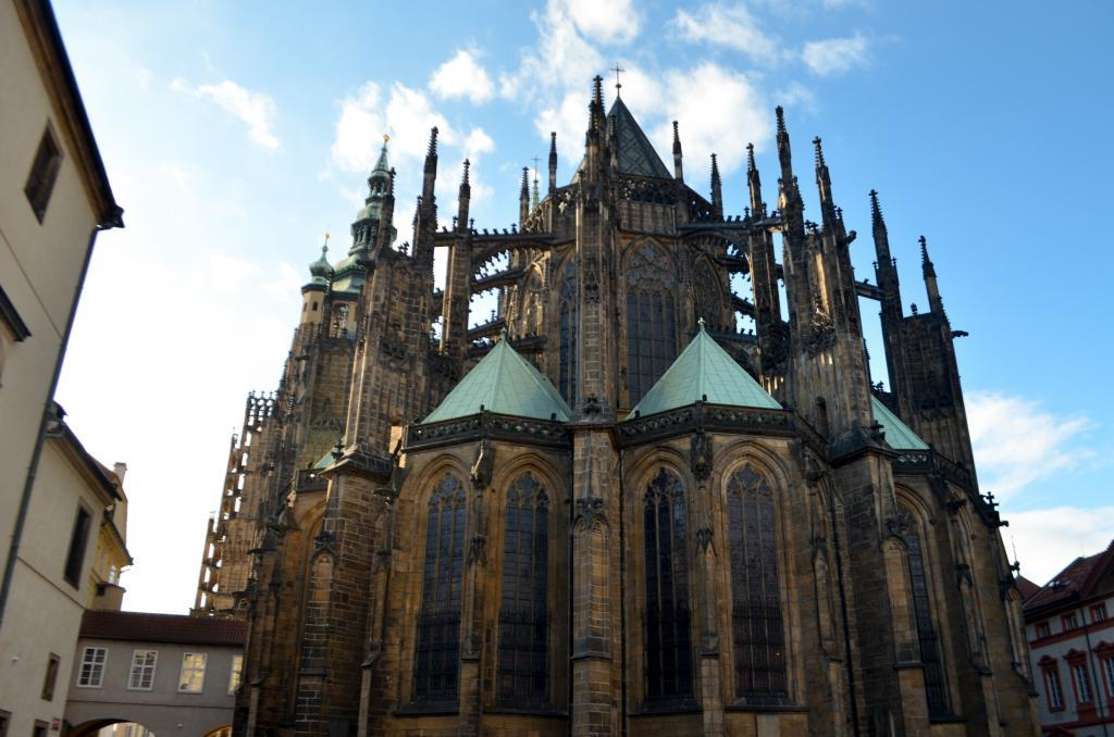 Cathedral of St. Vitus – The greatest Baroque church in Czech republic and the highlight of the Prague castle visit.