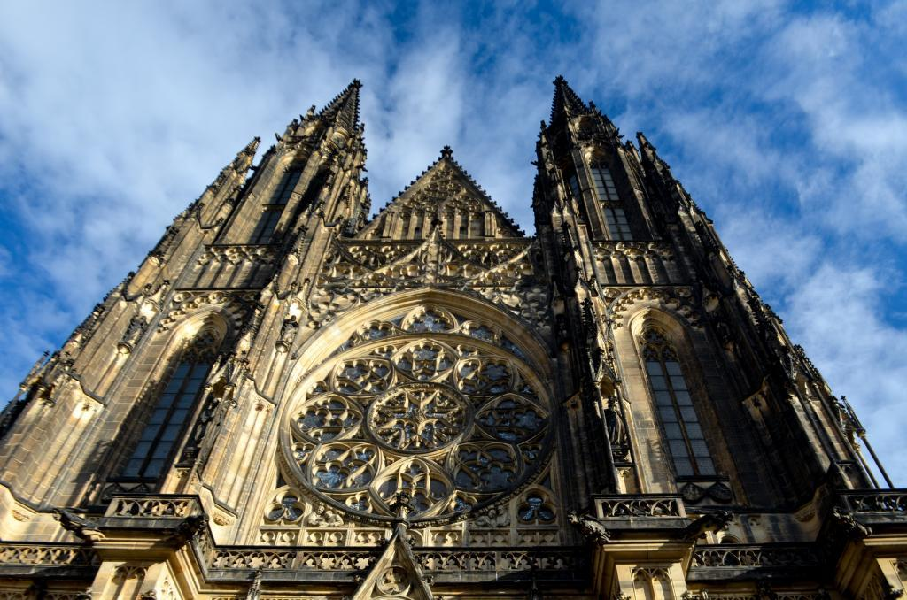 Cathedral of St. Vitus – the biggest and most important church in the country.
