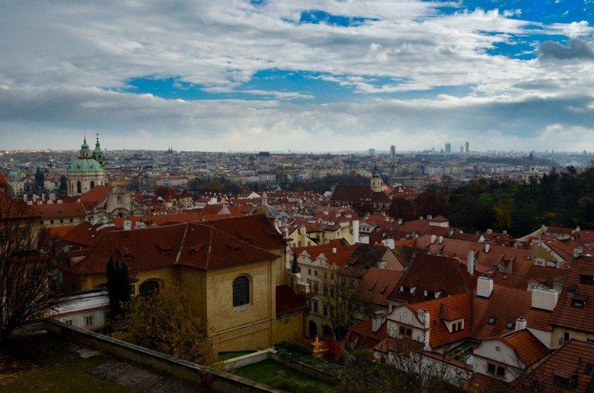 Best view of Prague from Prague castle