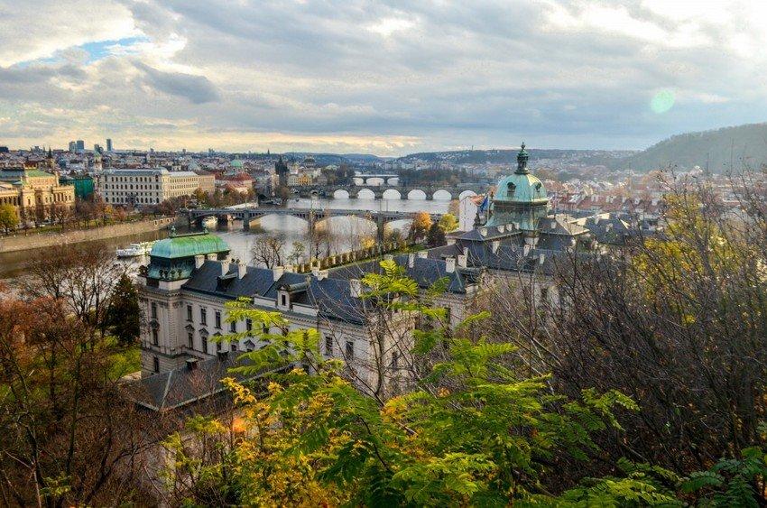 Best views of Prague from Letna park