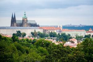 Best view: Prague from Petrin hill