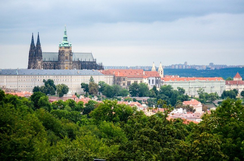 Best view: Prague from Petrin hill