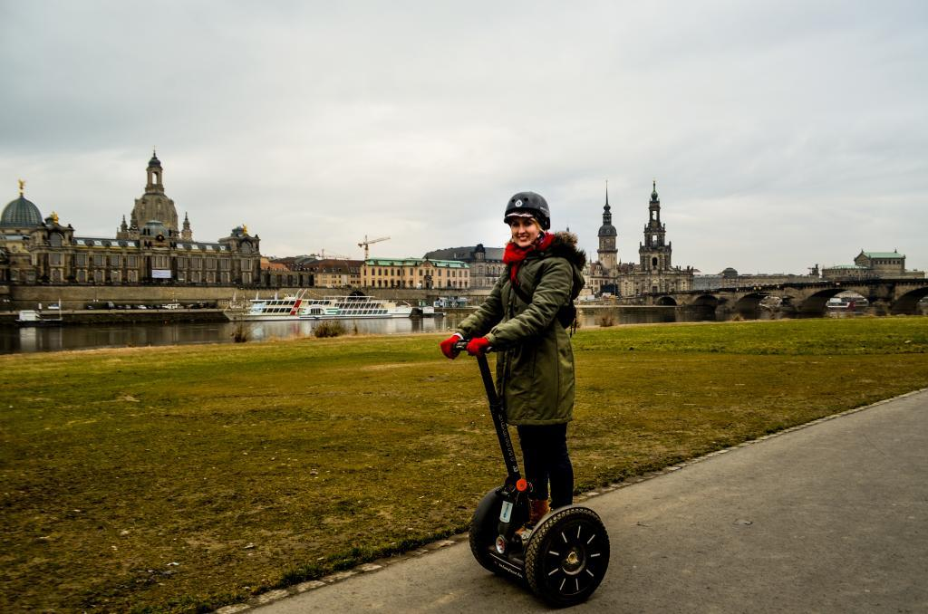 Dresden sights on segway