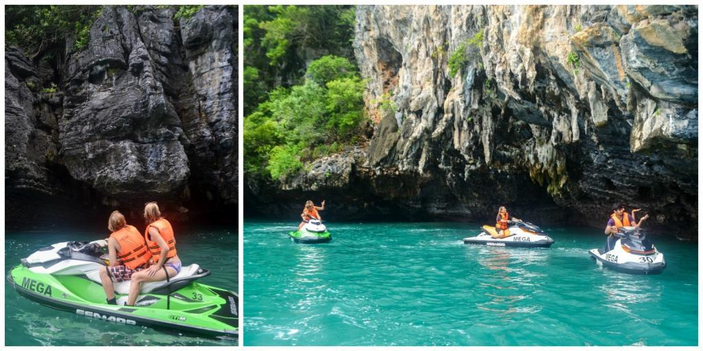 water sports in langkawi: island hopping