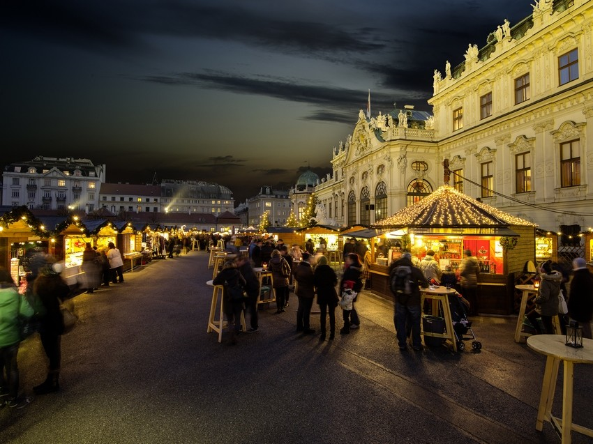 vienna in winter christmas market