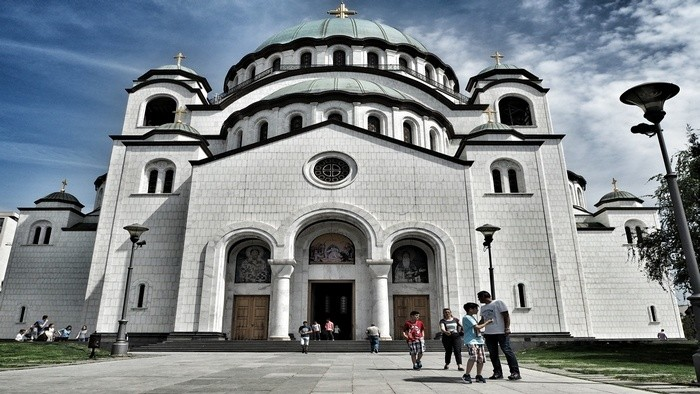 things to do in Belgrade Saint Sava