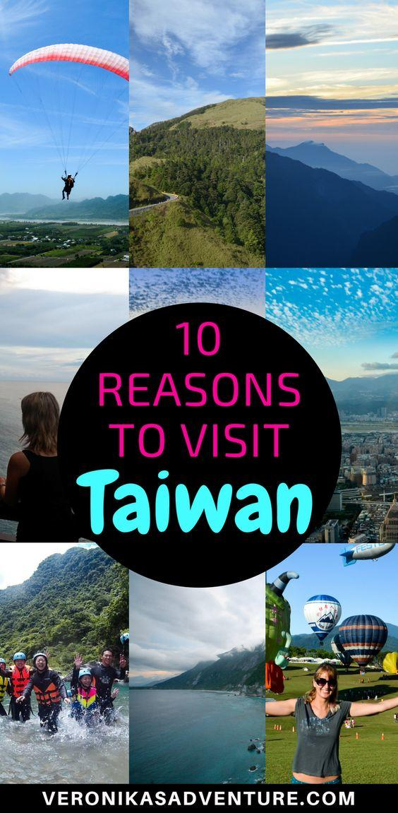 10 reasons to visit Taiwan - Taiwan: this stunning island and yet underrated destination is a must-go in East Asia! There are at least 10 reasons to visit it. Here are some reasons to visit Taiwan now!!! From amazing scenery, to beautiful festivals and amazing food, you won't regret it. Let me tell you all about beautiful Taiwan and why you should travel to Taiwan now! #taiwan #asia #travel #trip
