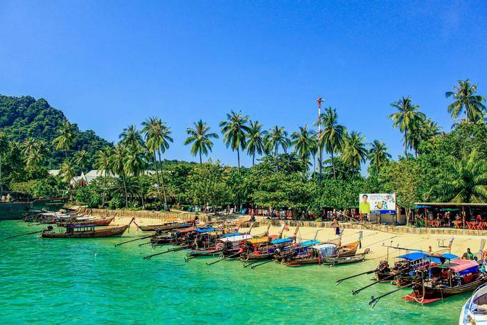 ko phi phi best islands to visit in Thailand
