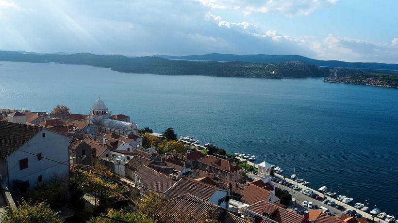 croatia road trip sibenik fortress