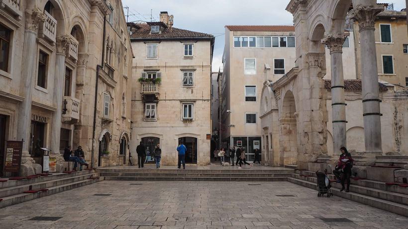 croatia road trip Diocletian's Palace