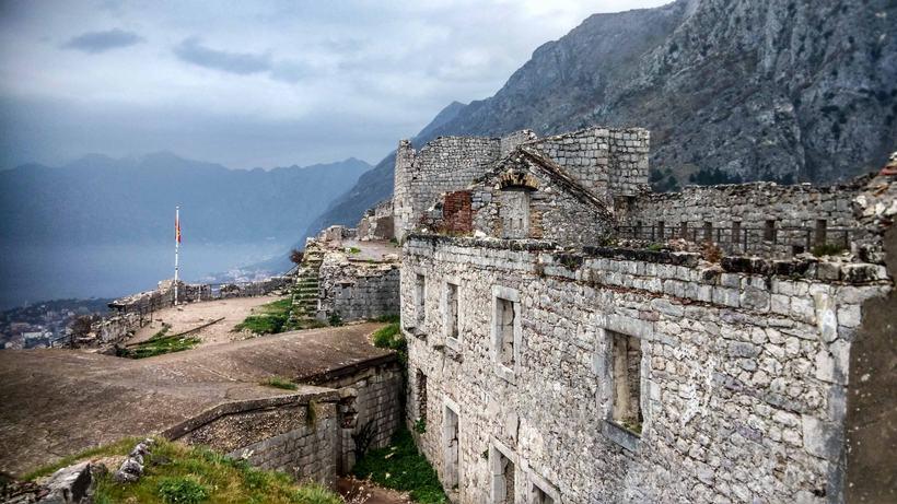 Rozafa Castle kotor montenegro