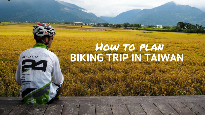 Biking trip in Taiwan cover