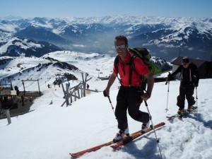 Kitzbüehel lyžování Hahnenkamm