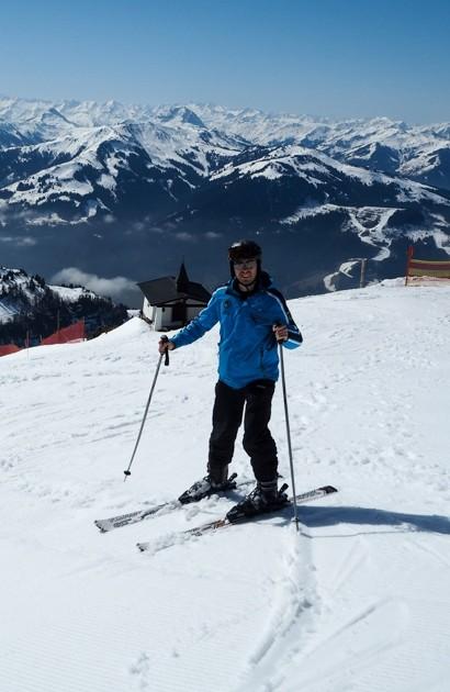 Kitzbühel Horn lyžování
