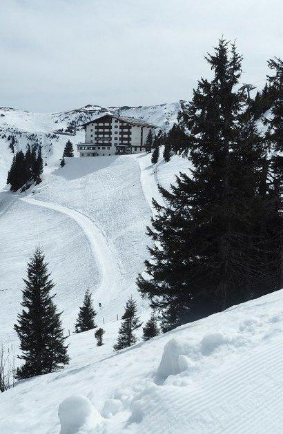 Kitzbüehel lyžování Hannenkamm