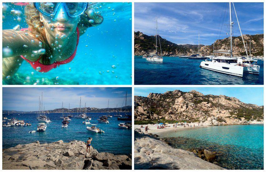 La Maddalena beaches spargi beach