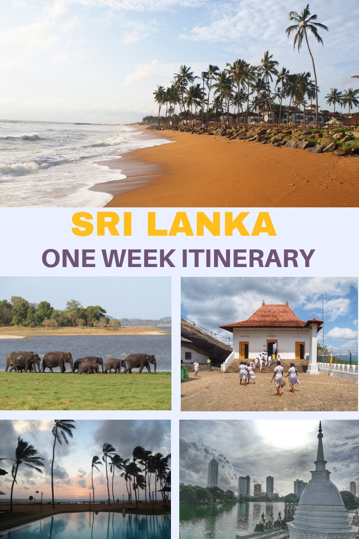 Sri Lanka in one week - Make the best of your trip and visit all the highlight in just 7 days without going completely crazy. I am sharing my own itinerary from the recent trip to Sri Lanka, with the travel tips and hotel recommendations.