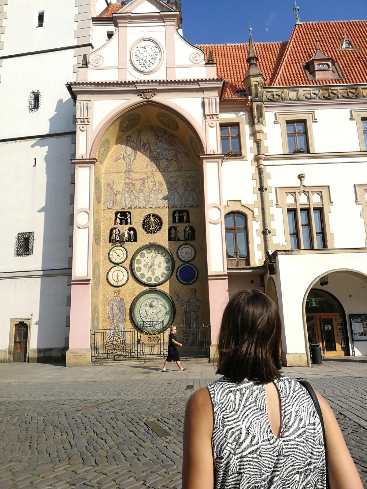 Woman in Olomouc