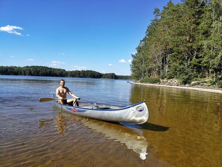 canoeing in sweden värmland
