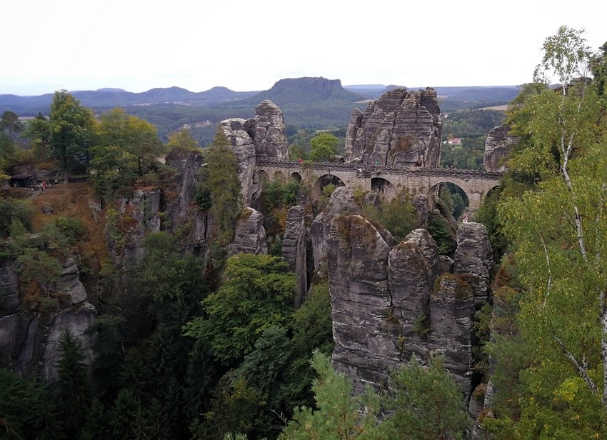 Saxon Switzerland National Park bastei
