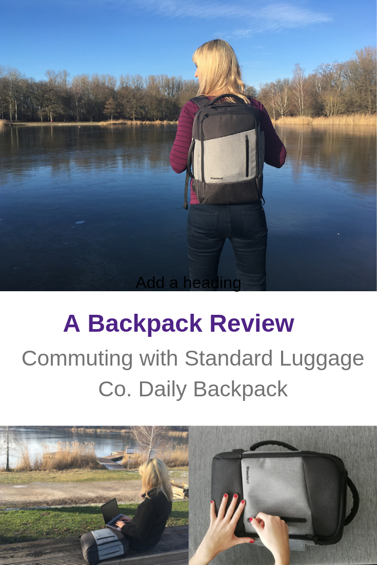 Perfect backpack you will enjoy both for work and travel!