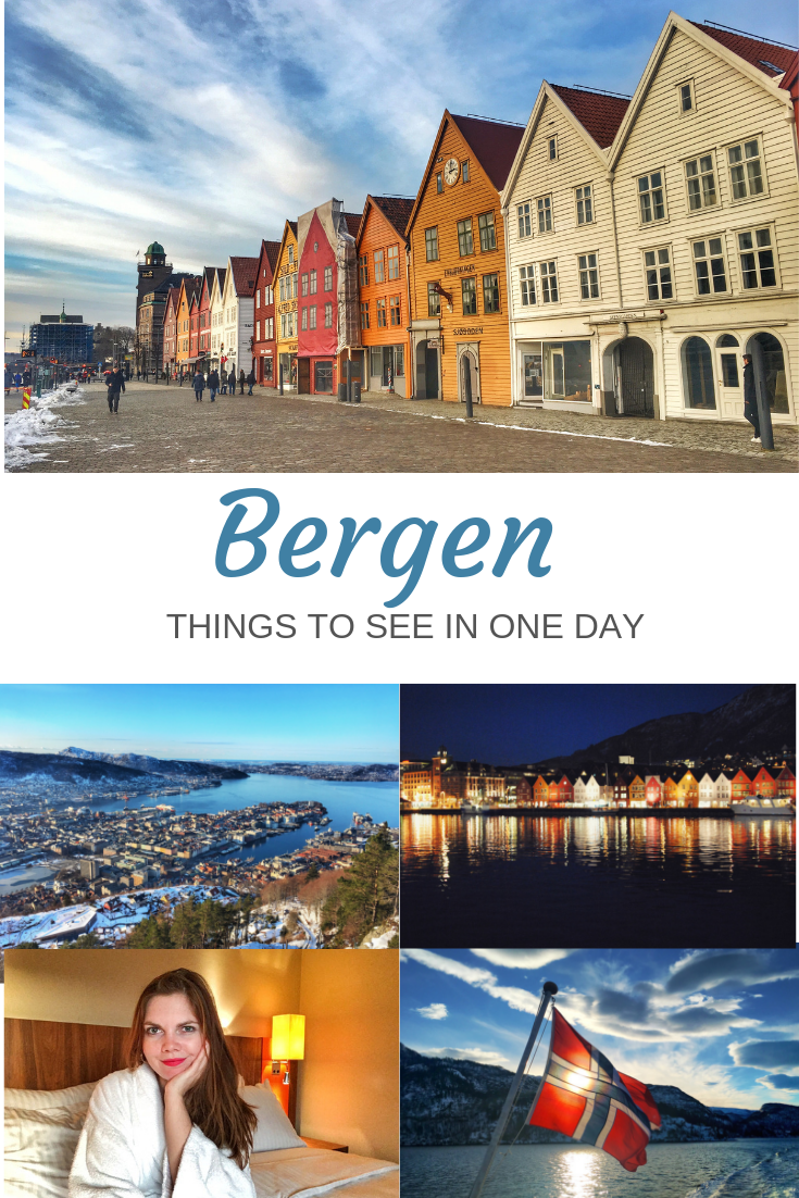 All you need to know about visiting Bergen, Norway. Take a look at historic houses listed by UNESCO and experience the boat trip to the stunning Fjords. #norway #bergen